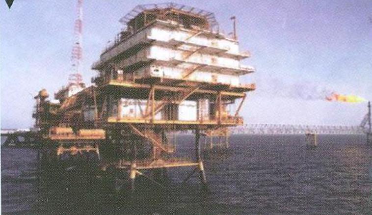 نوسازی سکوی اسکان نفتی ابوذر